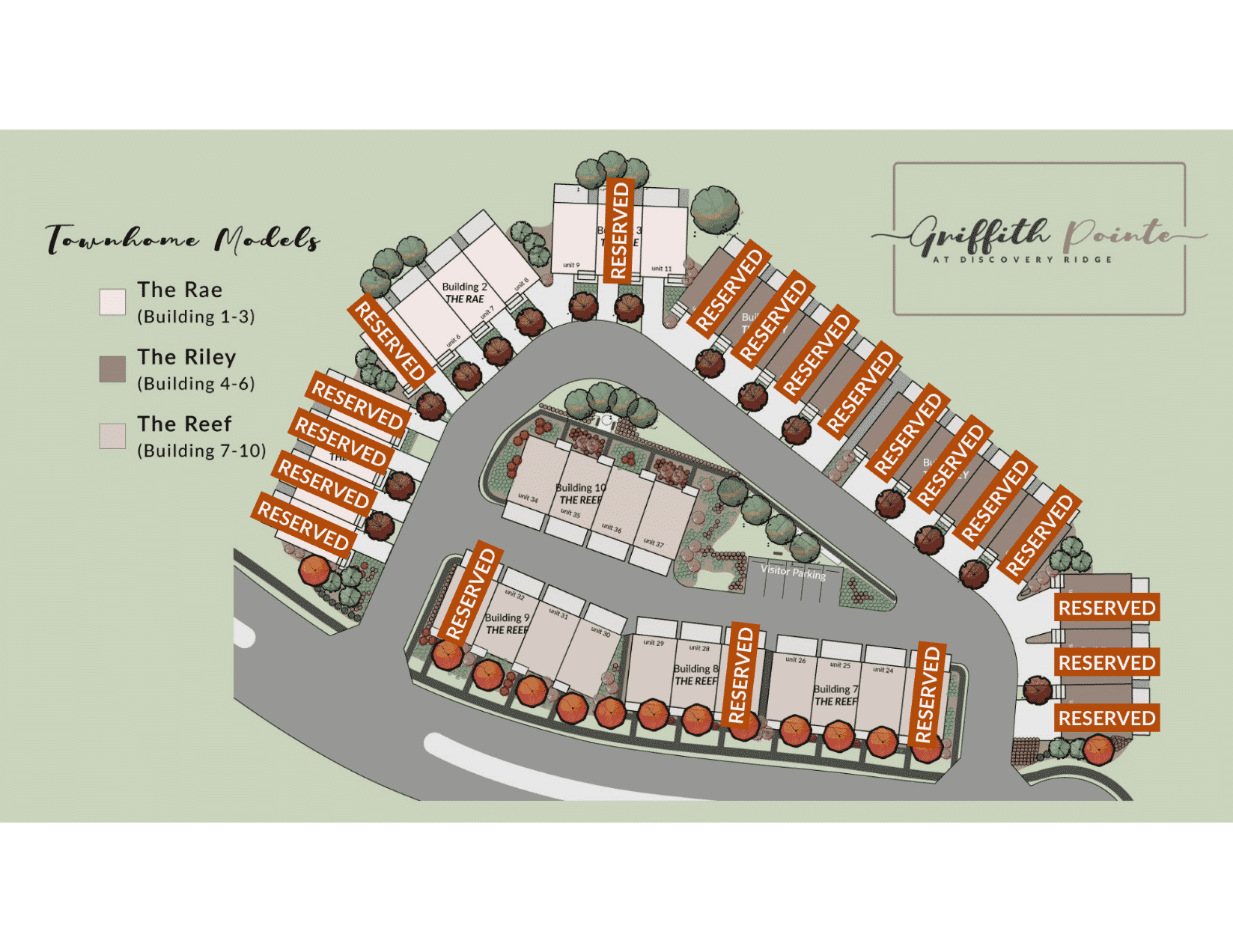 Site Plan Griffith Pointe at
